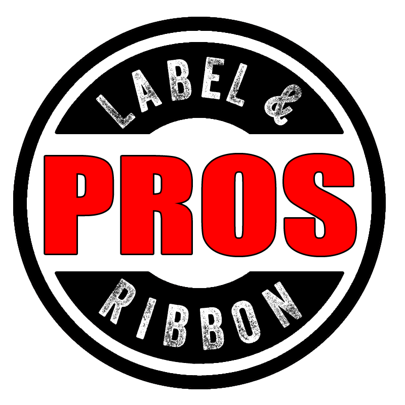 Thermal Transfer Labels - #805 Fluorescent Red