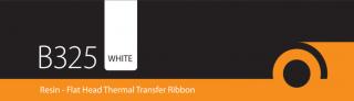 B325 White Flexible Resin Ribbon