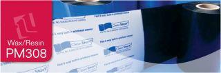 PM308 Premium Wax/Resin Ribbons