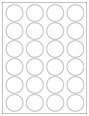 """1.625"""" Circle Labels"""