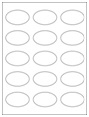 """2.375"""" x 1.4375"""" Oval Labels"""